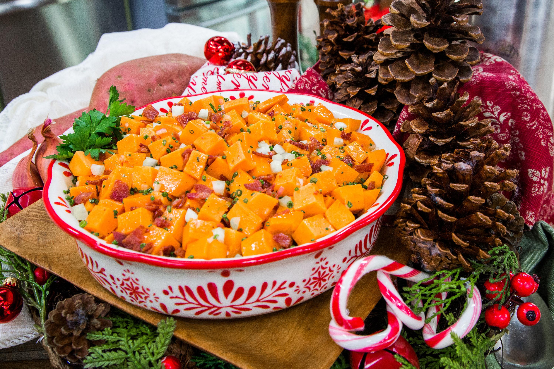 Sweet and Salty Sweet Potato Salad Home & Family