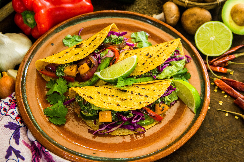 Recipes - Grilled Plant-Based Taco Bar Recipes   Hallmark ...