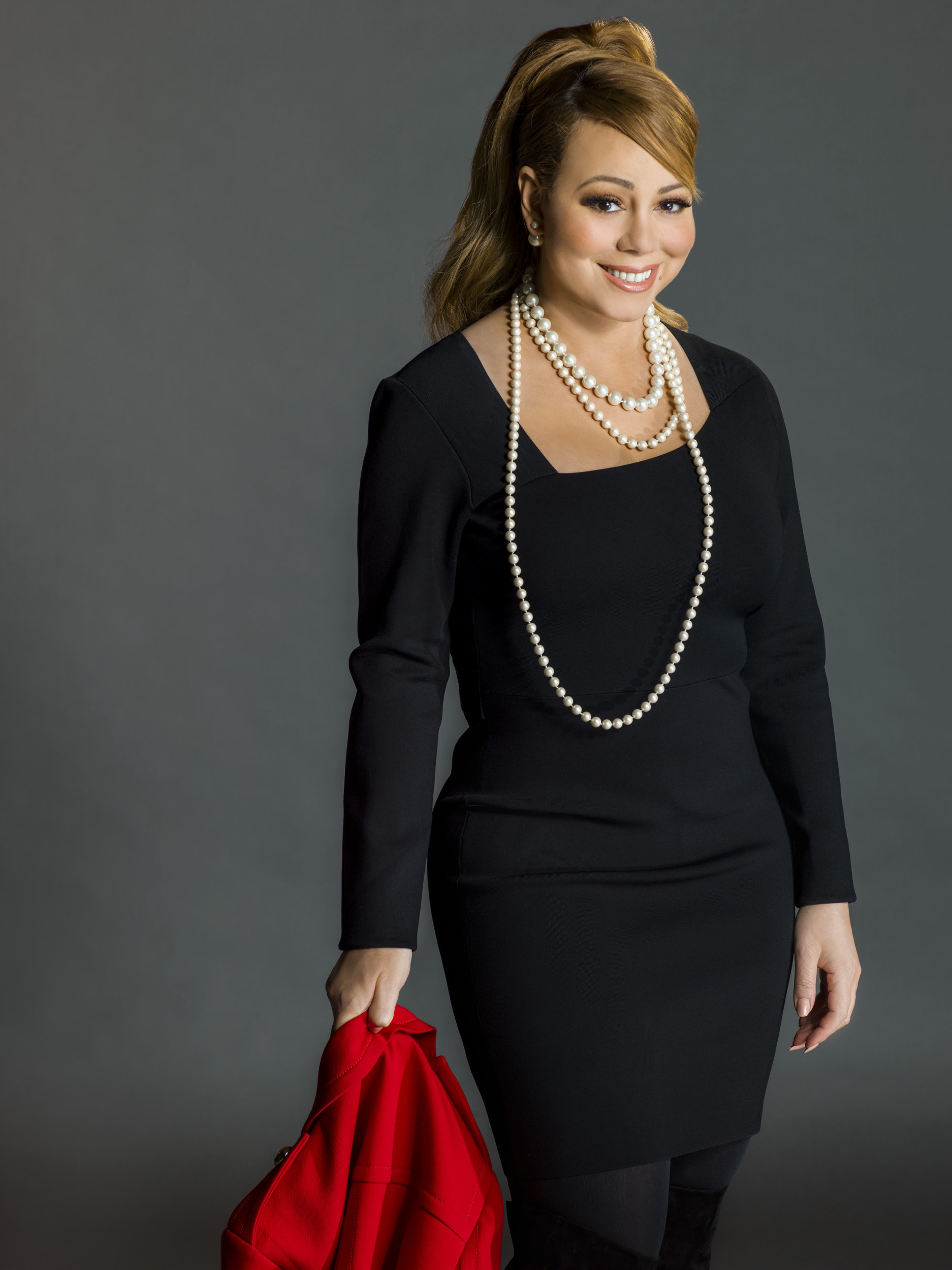 Mariah Carey as Melissa Atkinson on A Christmas Melody | Hallmark Channel