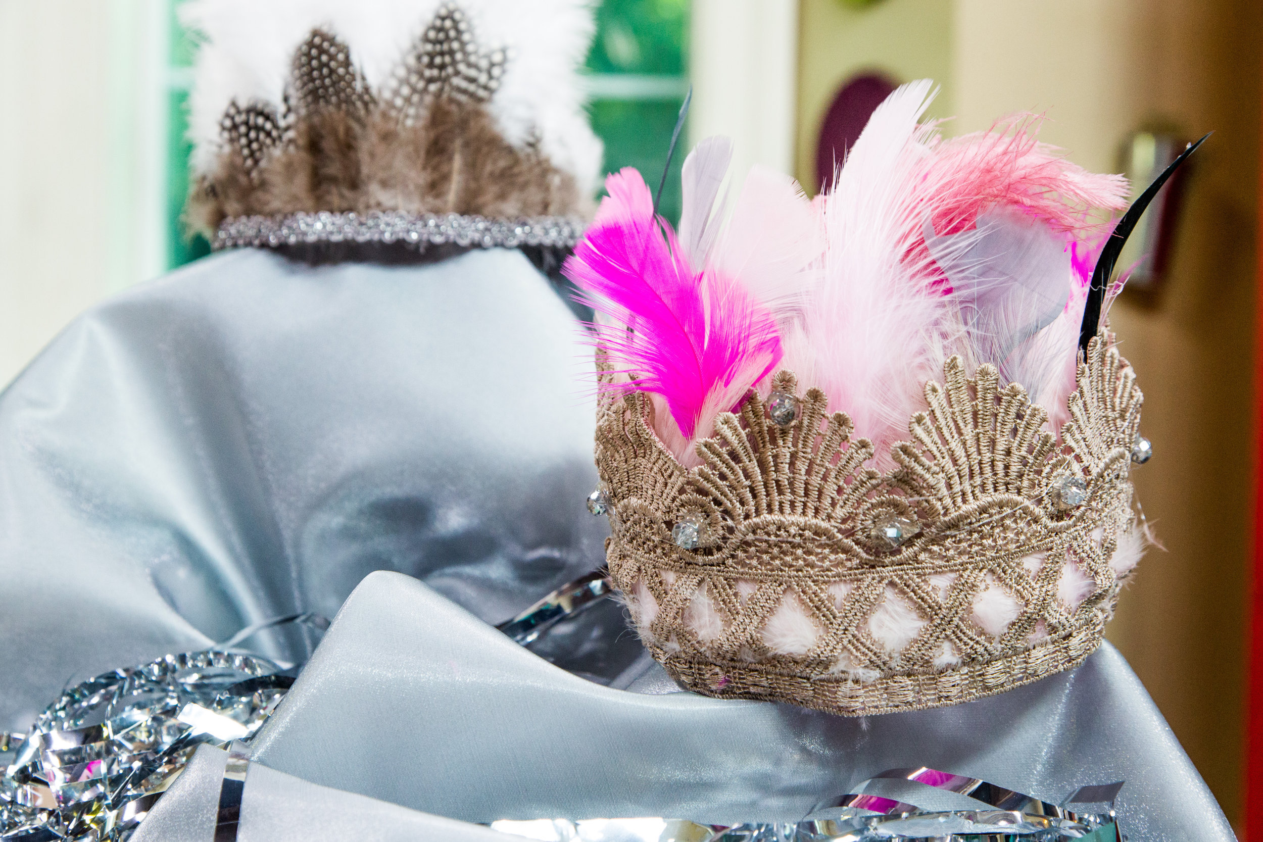 How To Diy Feather Princess Crowns Home Amp Family