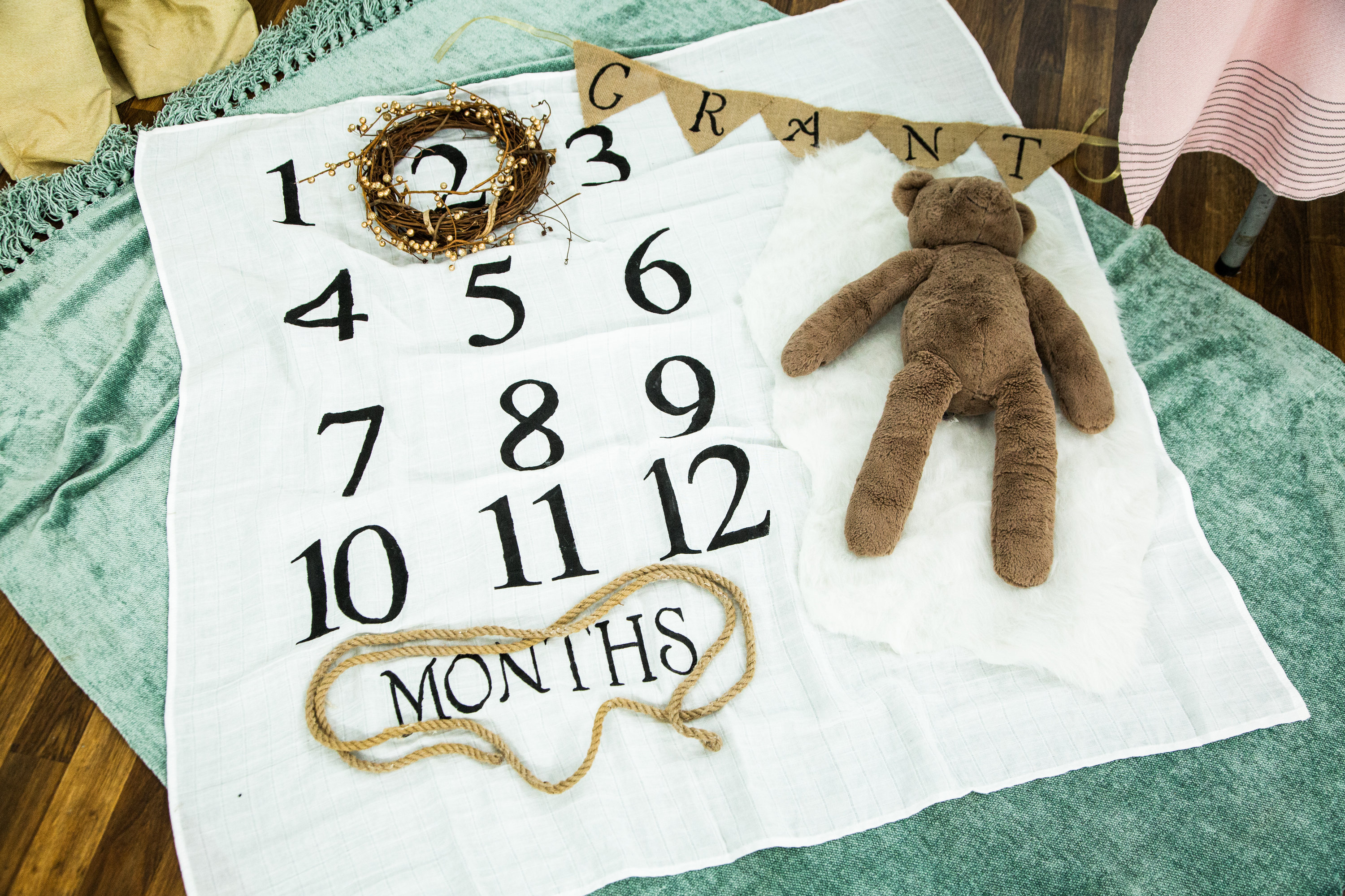 How To Diy Baby Milestone Blanket Hallmark Channel