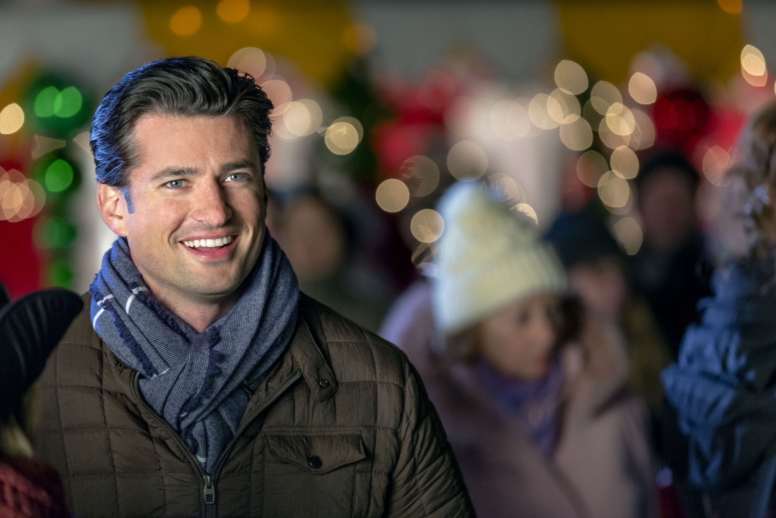 Christmas At Graceland 2 Cast.Wes Brown As Jake Christmas Cookies Hallmark Channel