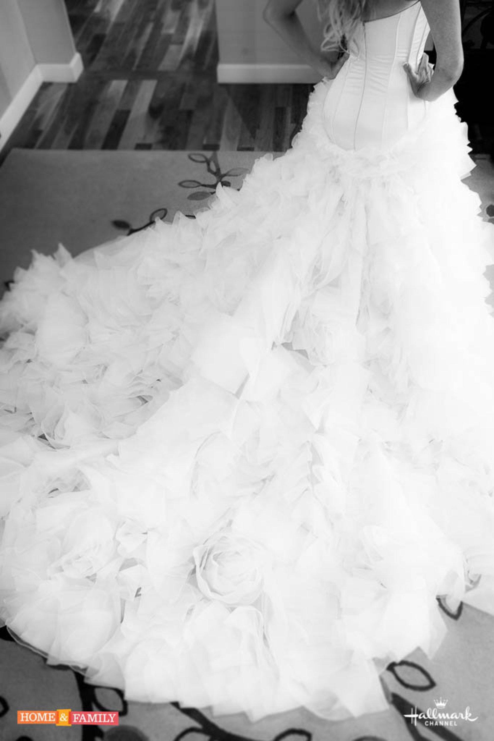 Photos Of Paige S Wedding Dress 1