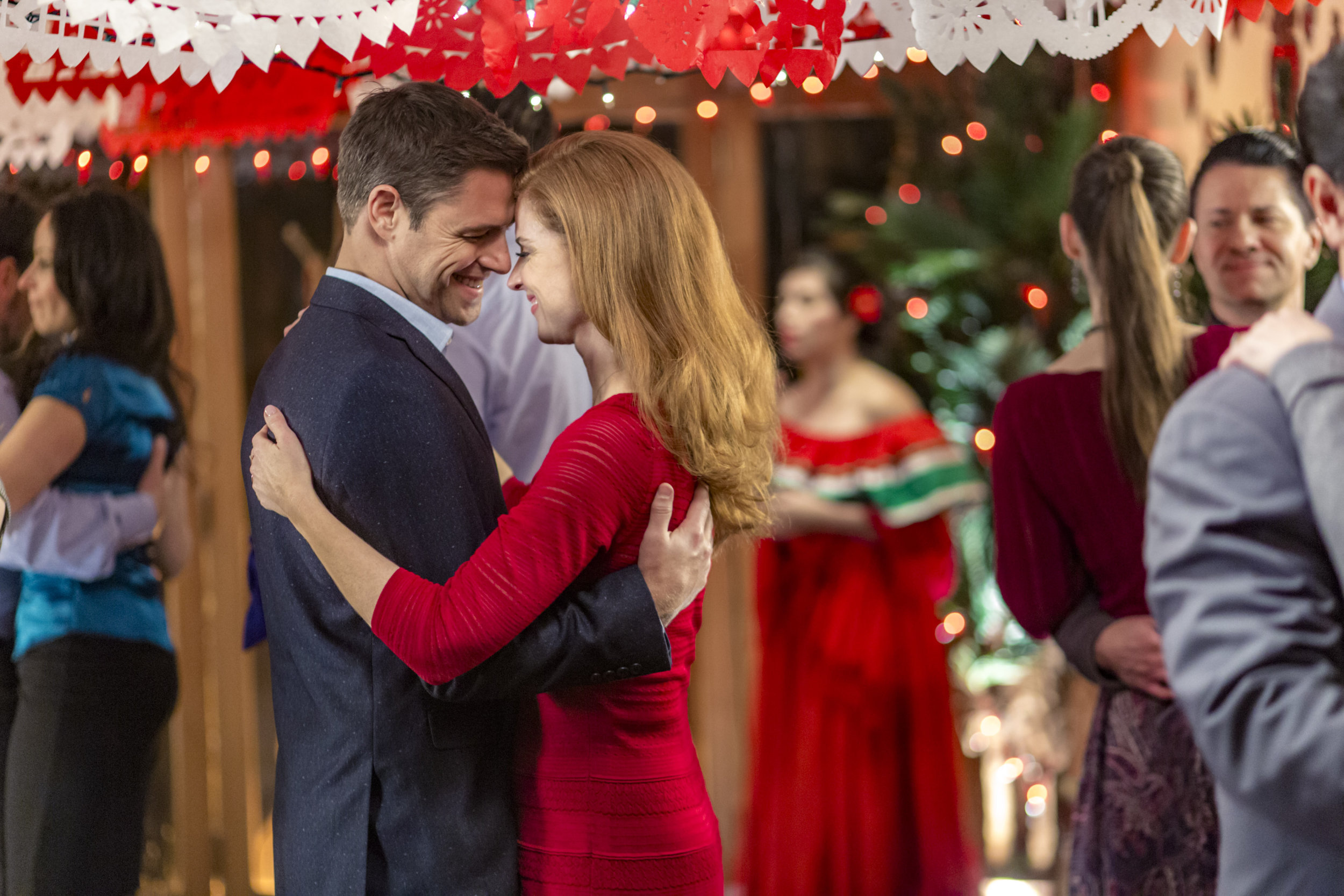 cast all things valentine hallmark channel - All About Christmas Eve Cast