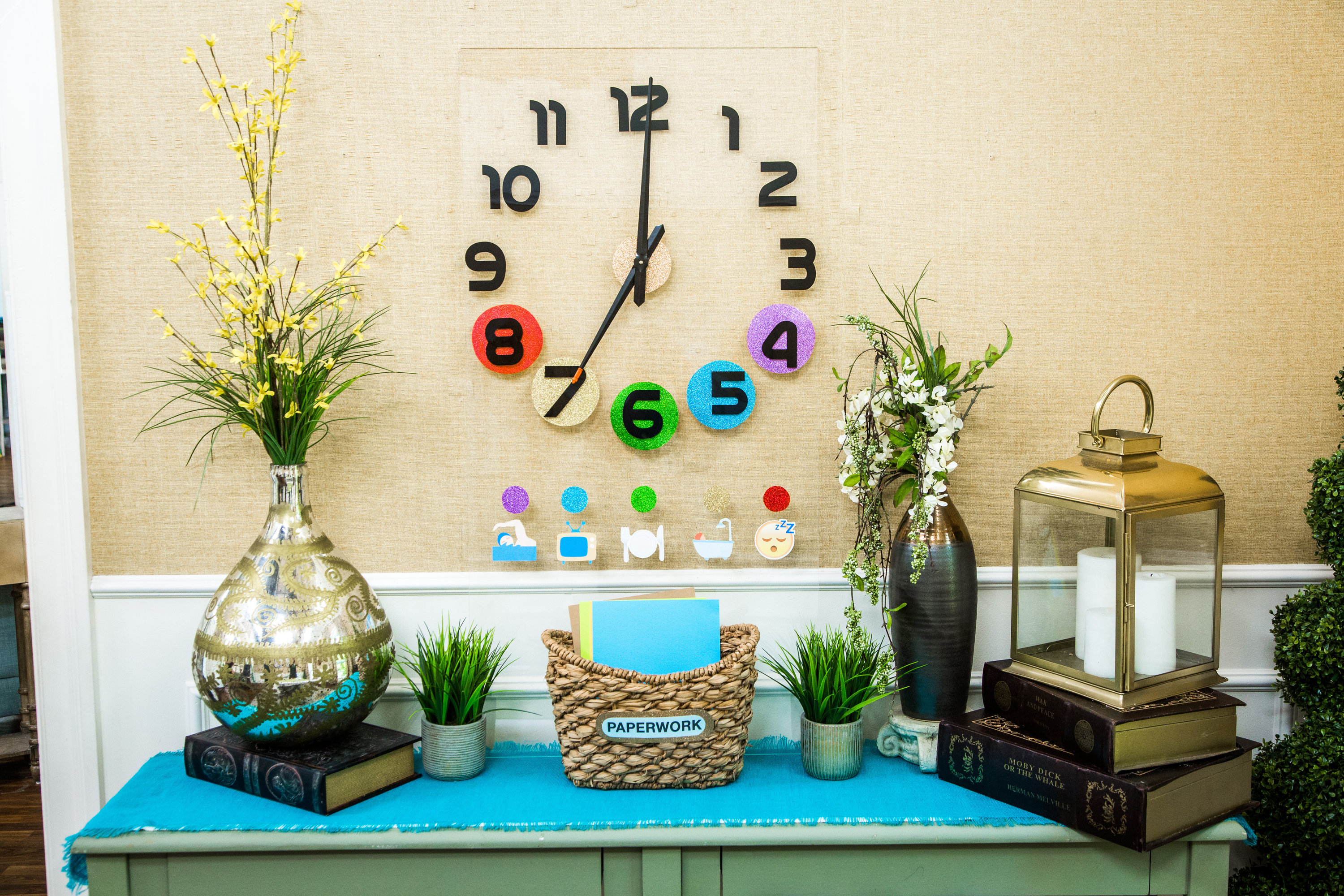 how to diy back to school time clock hallmark channel