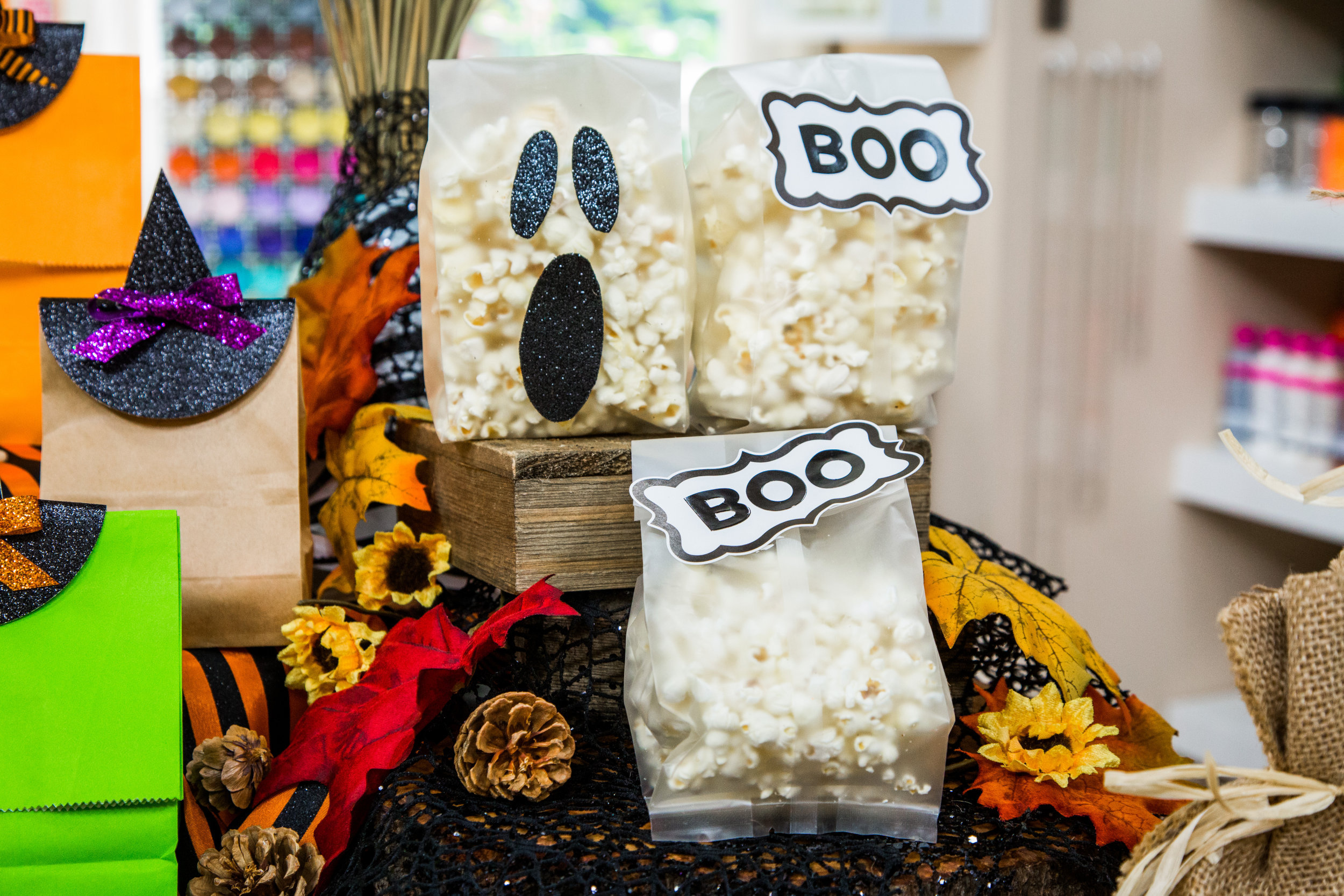 diy halloween goodie bags   home & family   hallmark channel