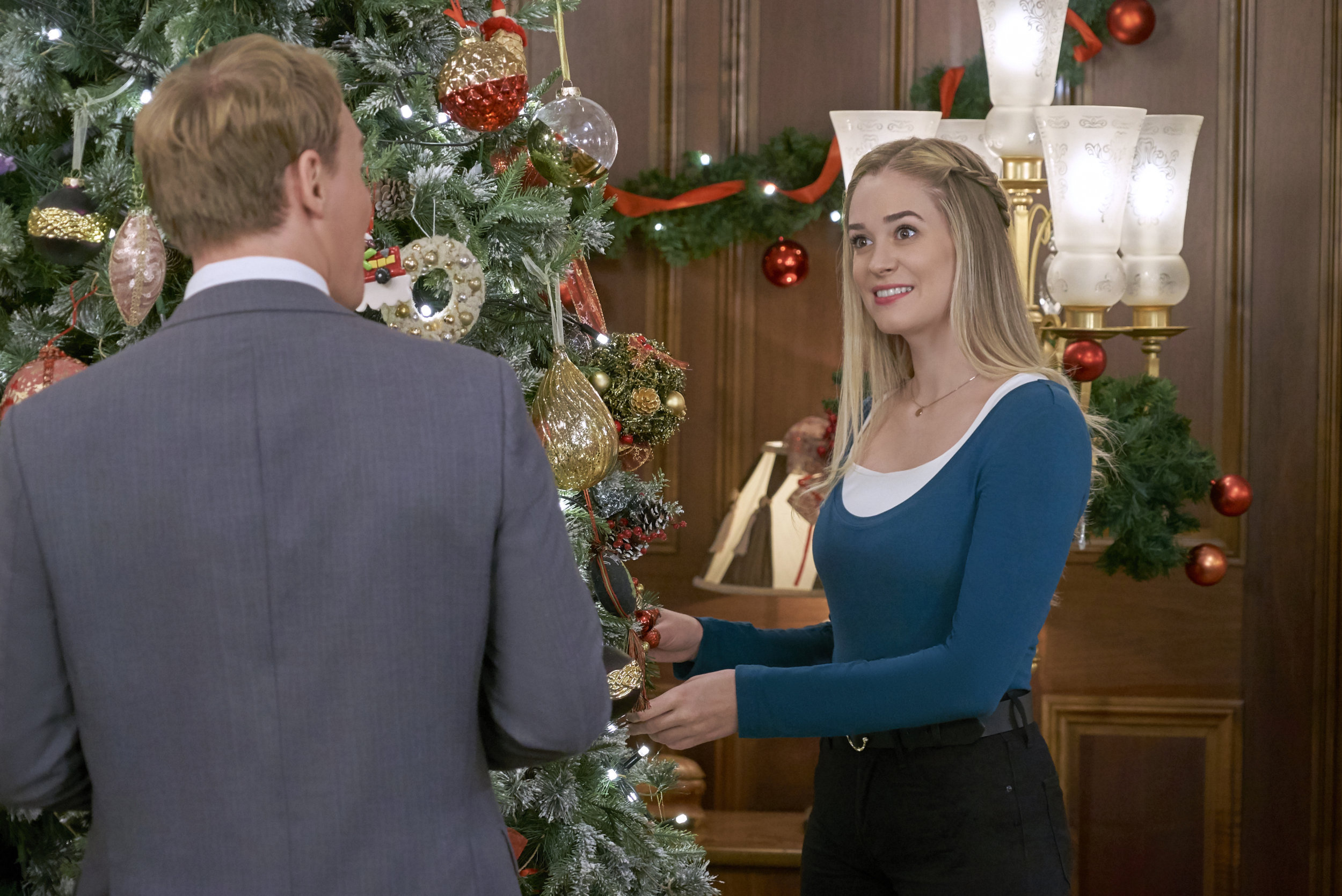 Christmas At The Palace.Brittany Bristow As Jessica On Christmas At The Palace