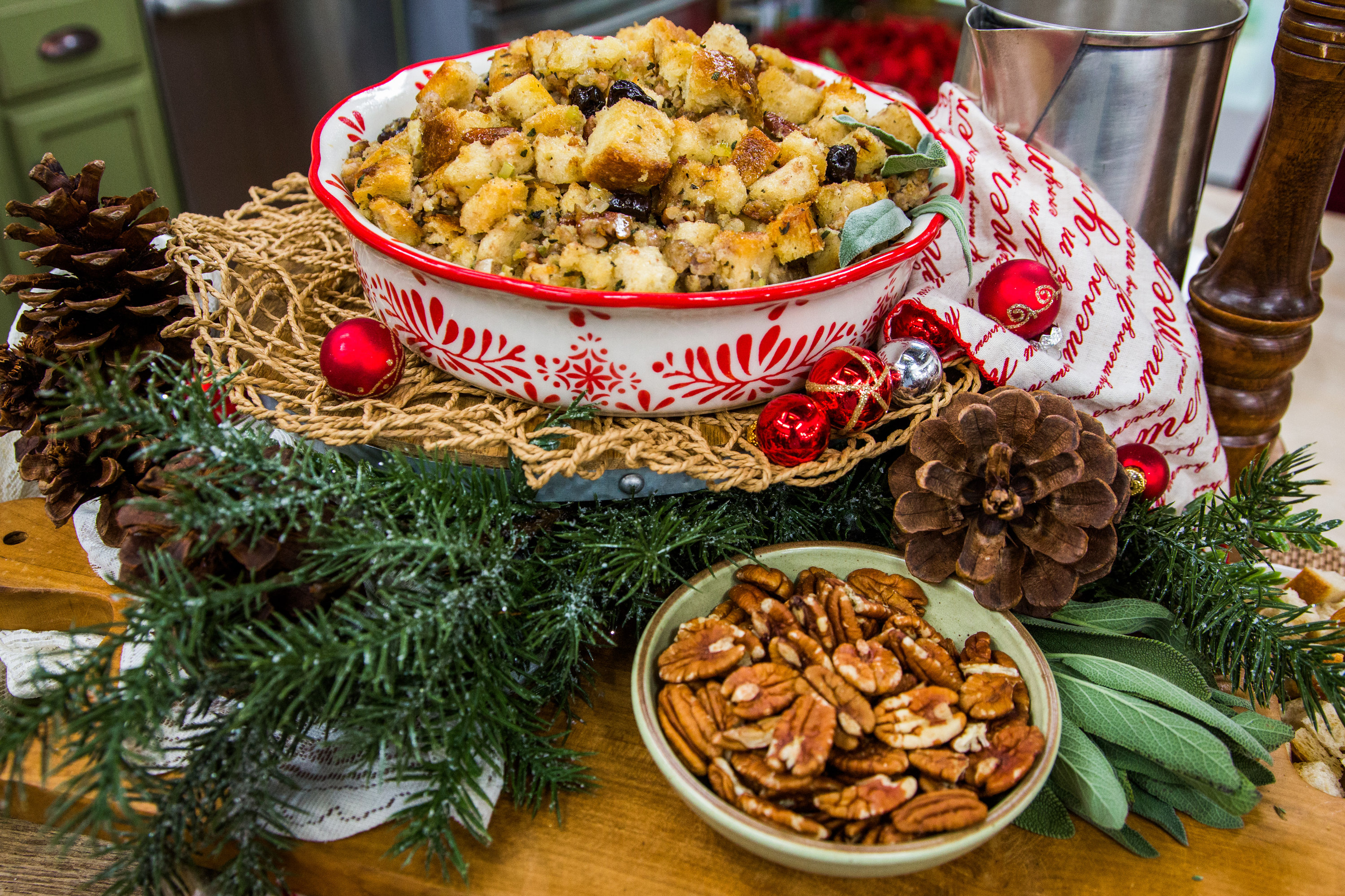 Sausage, Dried Cherry and Sage Stuffing recommend
