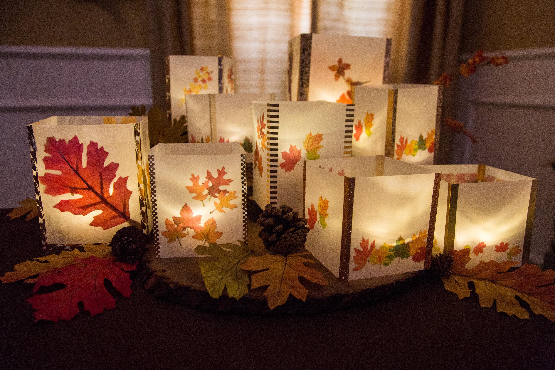 How To DIY Autumn Leaf Lanterns Hallmark Channel