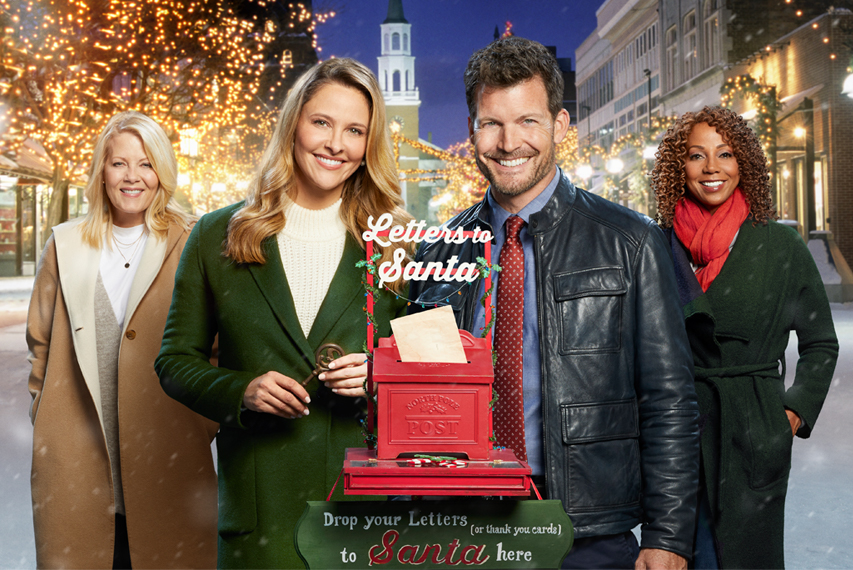 Christmas In Evergreen Truck.Christmas In Evergreen Letters To Santa Hallmark Channel