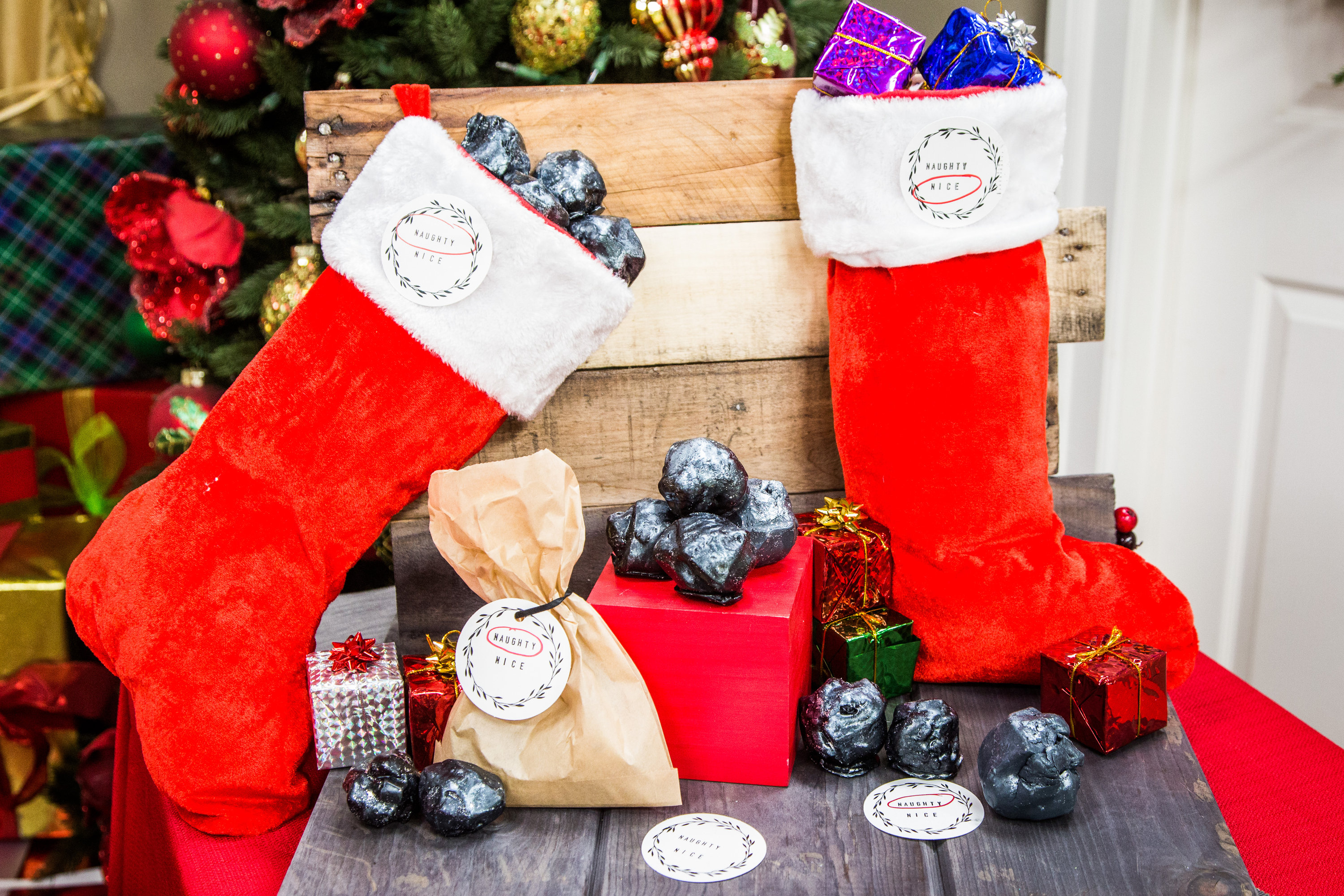 How To - DIY Lump of Coal Soap | Hallmark Channel