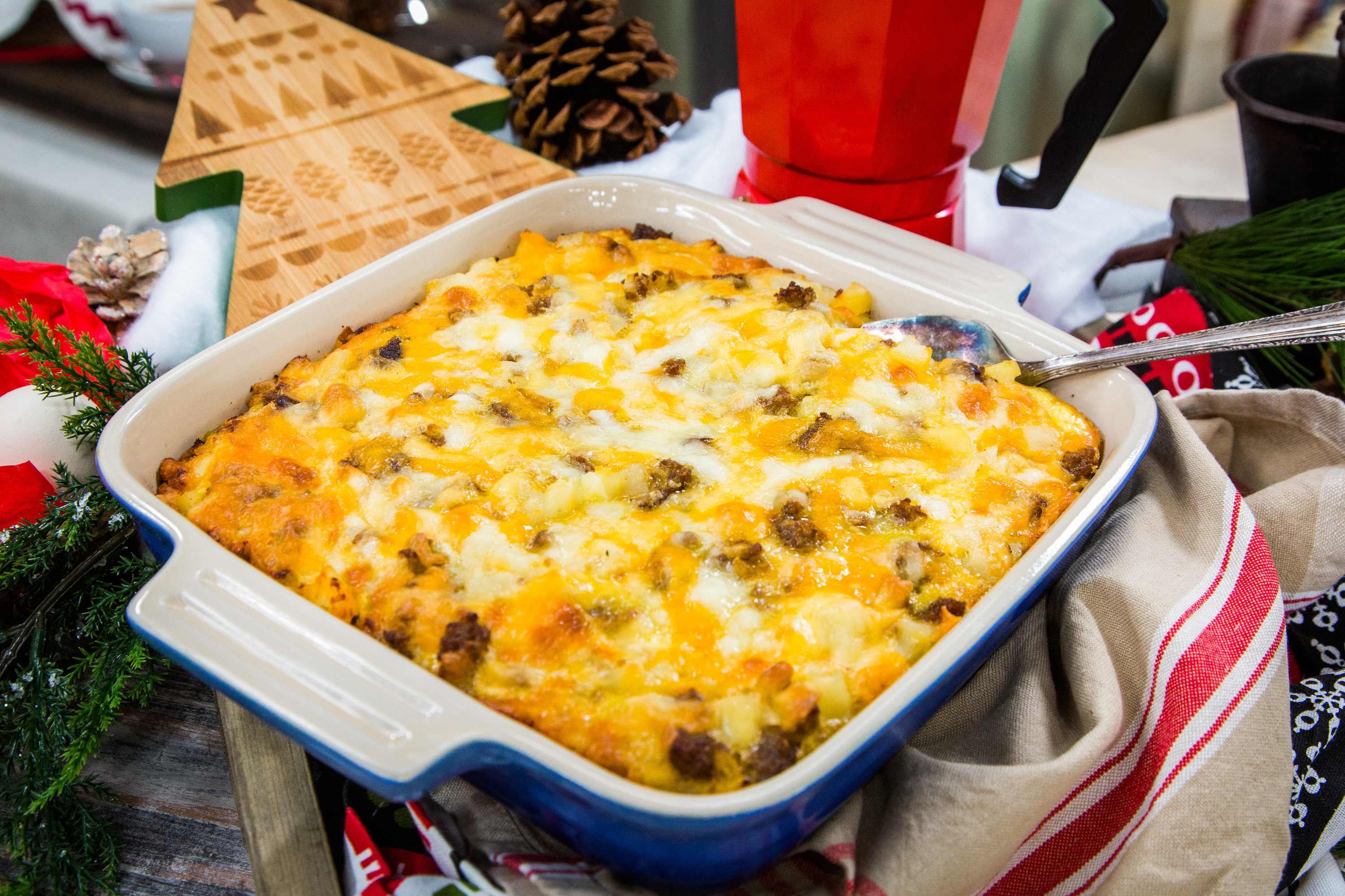 recipes christmas morning casserole hallmark channel