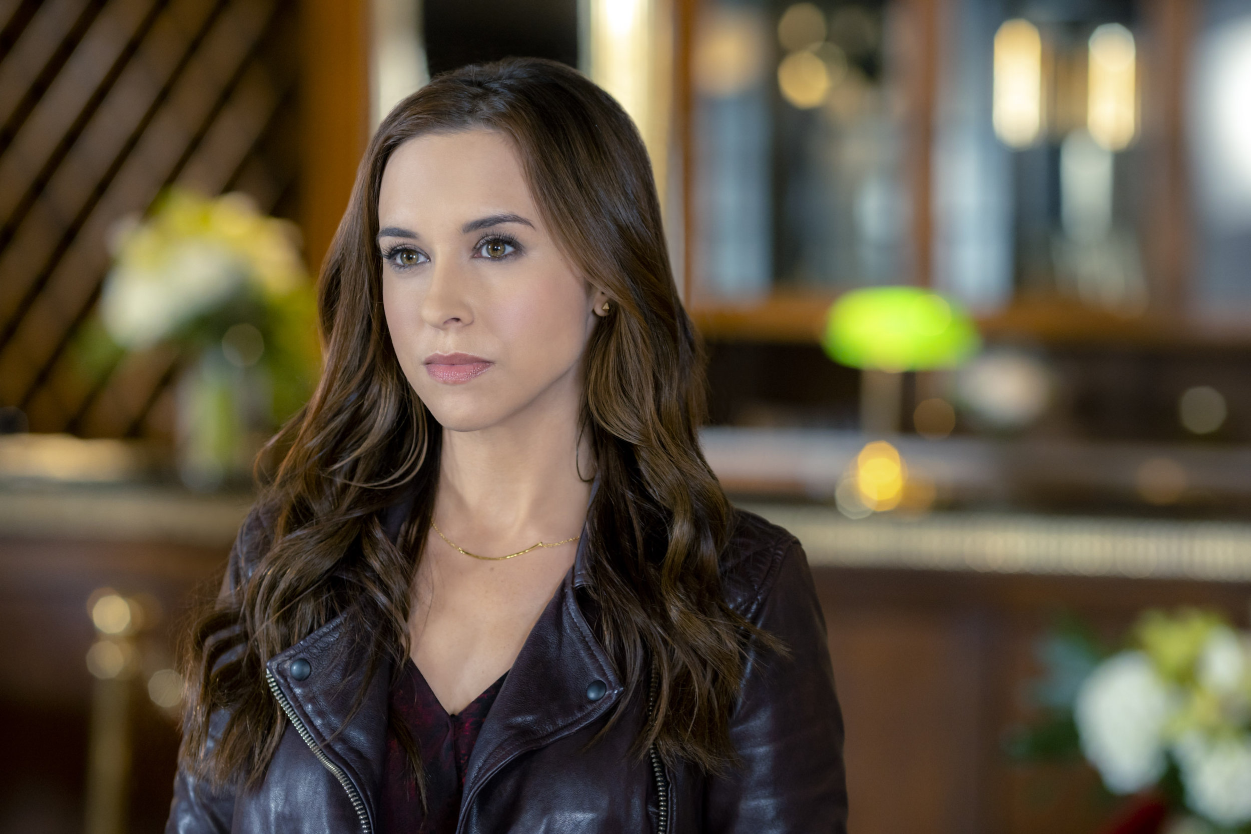Lacey Chabert As Tess Harper On The Crossword Mysteries  A