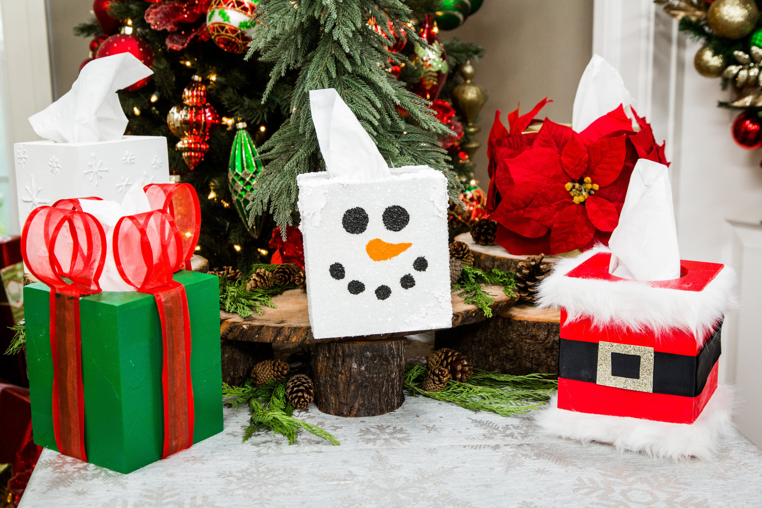DIY Christmas Tissue Boxes | Home & Family | Hallmark Channel
