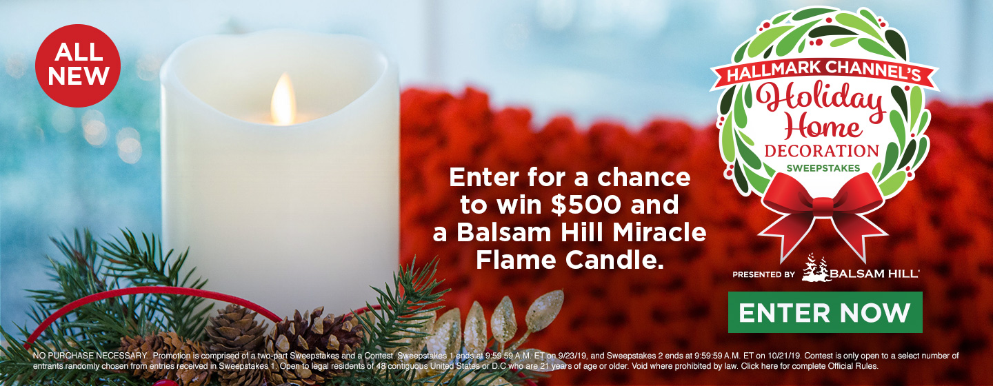 Hallmark Channel\'s Holiday Home Decoration Sweepstakes ...