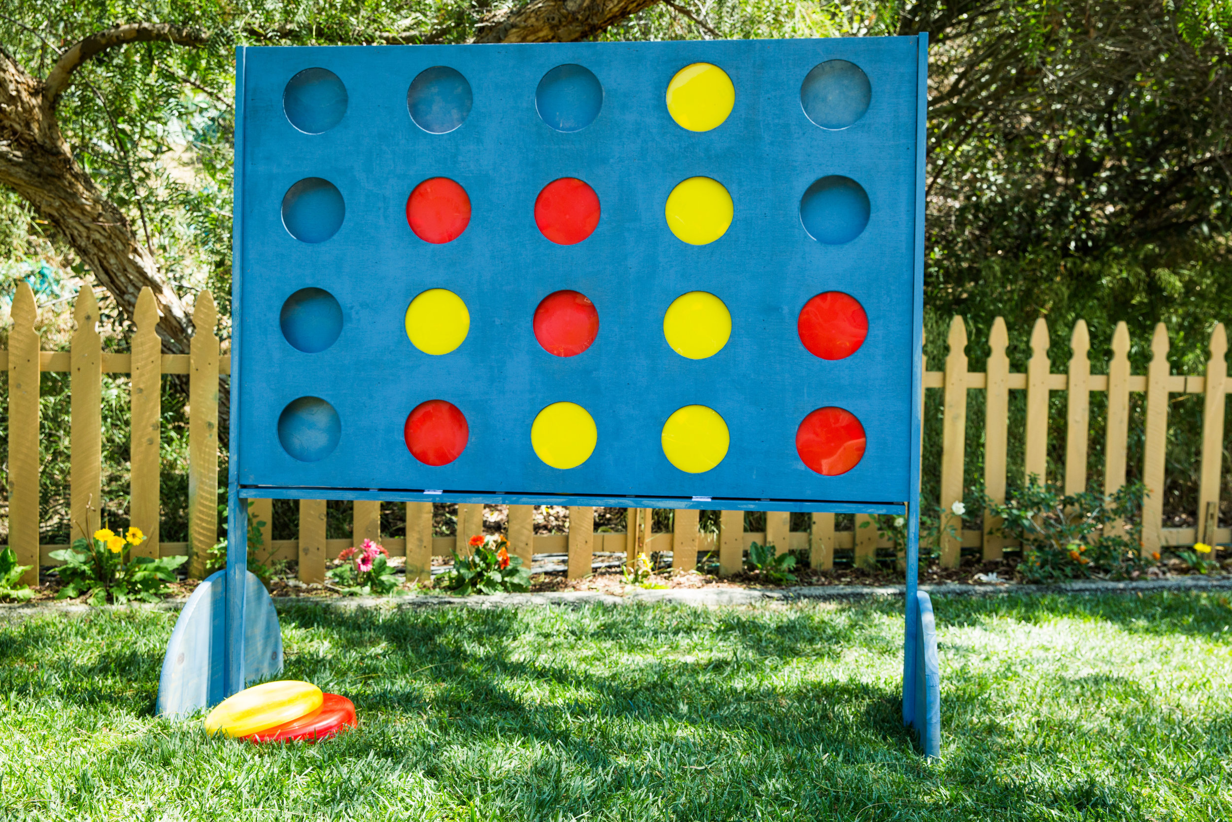 How To Diy Giant Backyard Connect Four Game Home Family