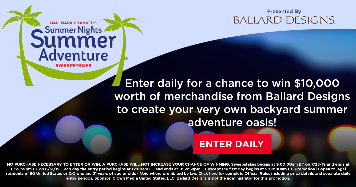 Summer Nights Summer Adventure Sweepstakes | Summer Nights