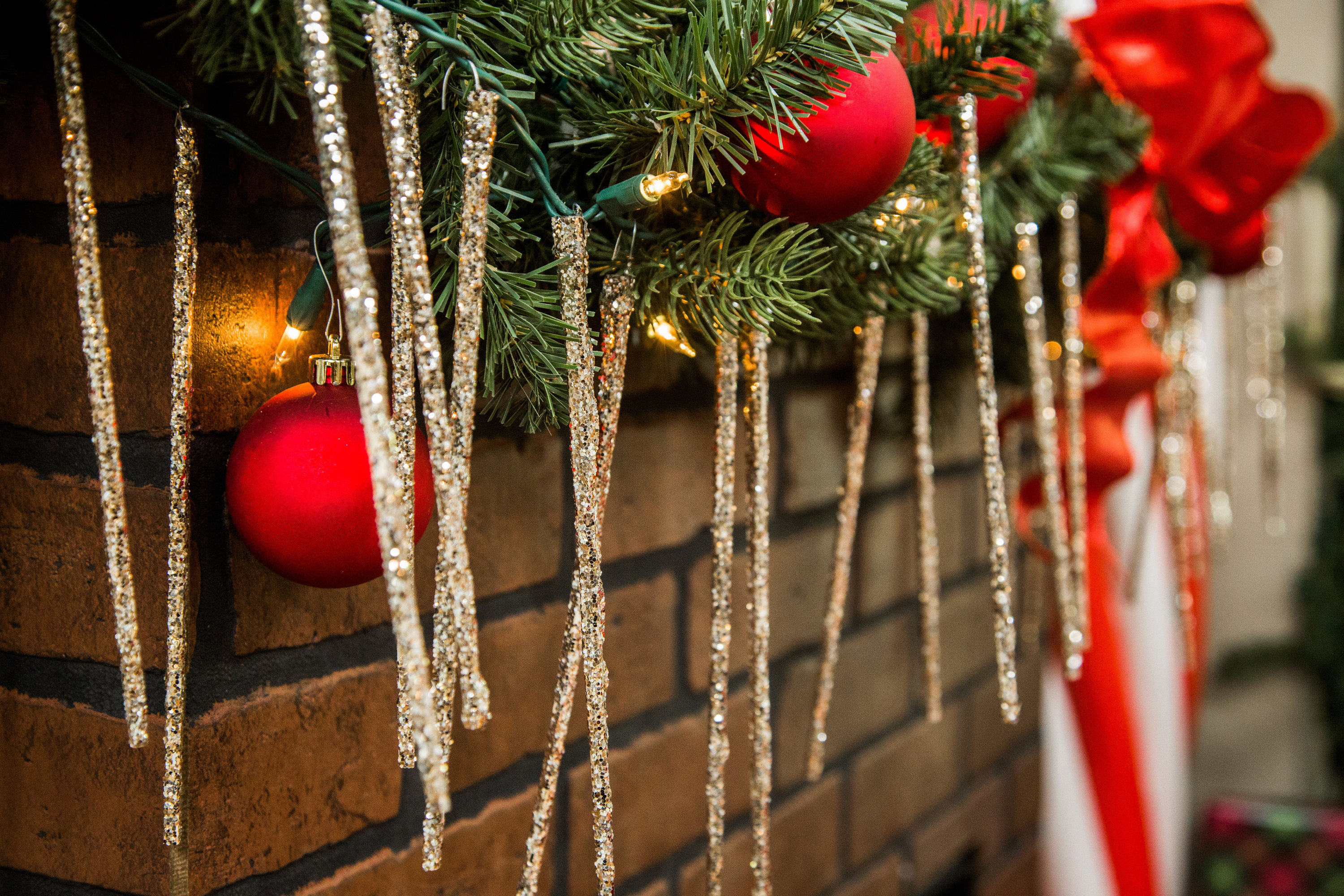 how to diy chopstick icicles hallmark channel - Icicles For Christmas Tree