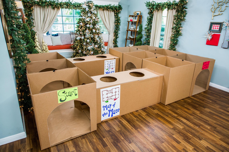 How To Diy Maze For Kids Hallmark Channel