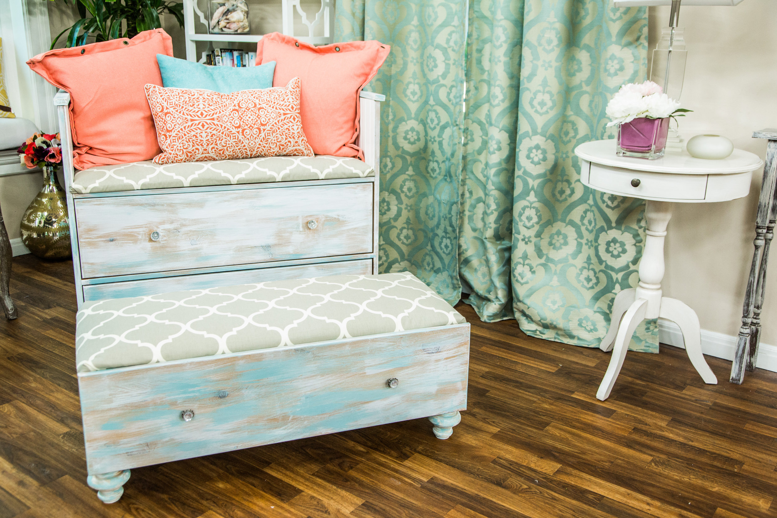 Diy Refurbished Dresser Chair Set Home Amp Family