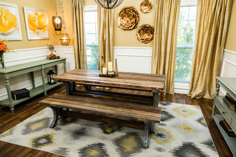 DIY Dining Picnic Tables