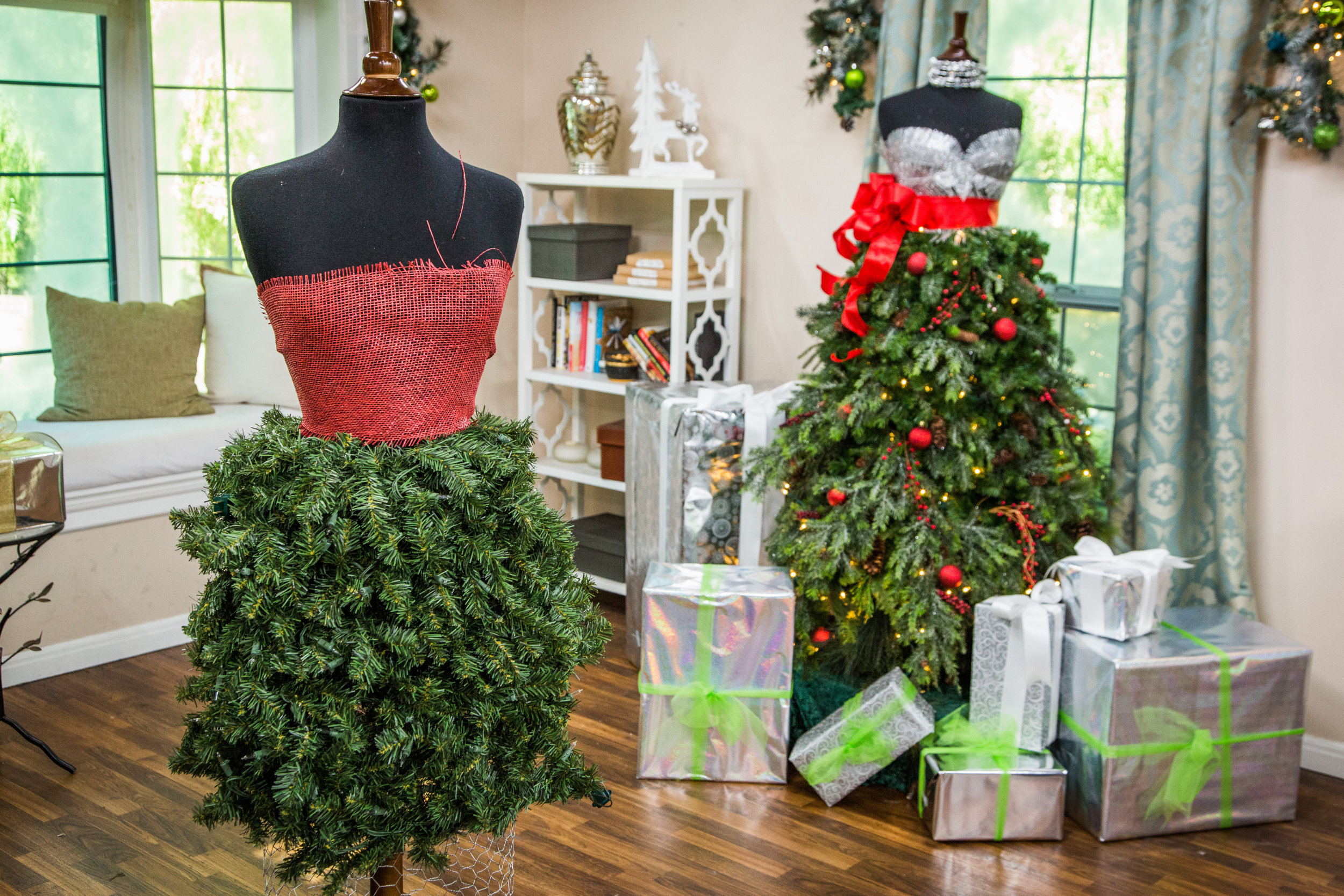 how to diy christmas ornament dress home family hallmark channel - Christmas Tree Dress