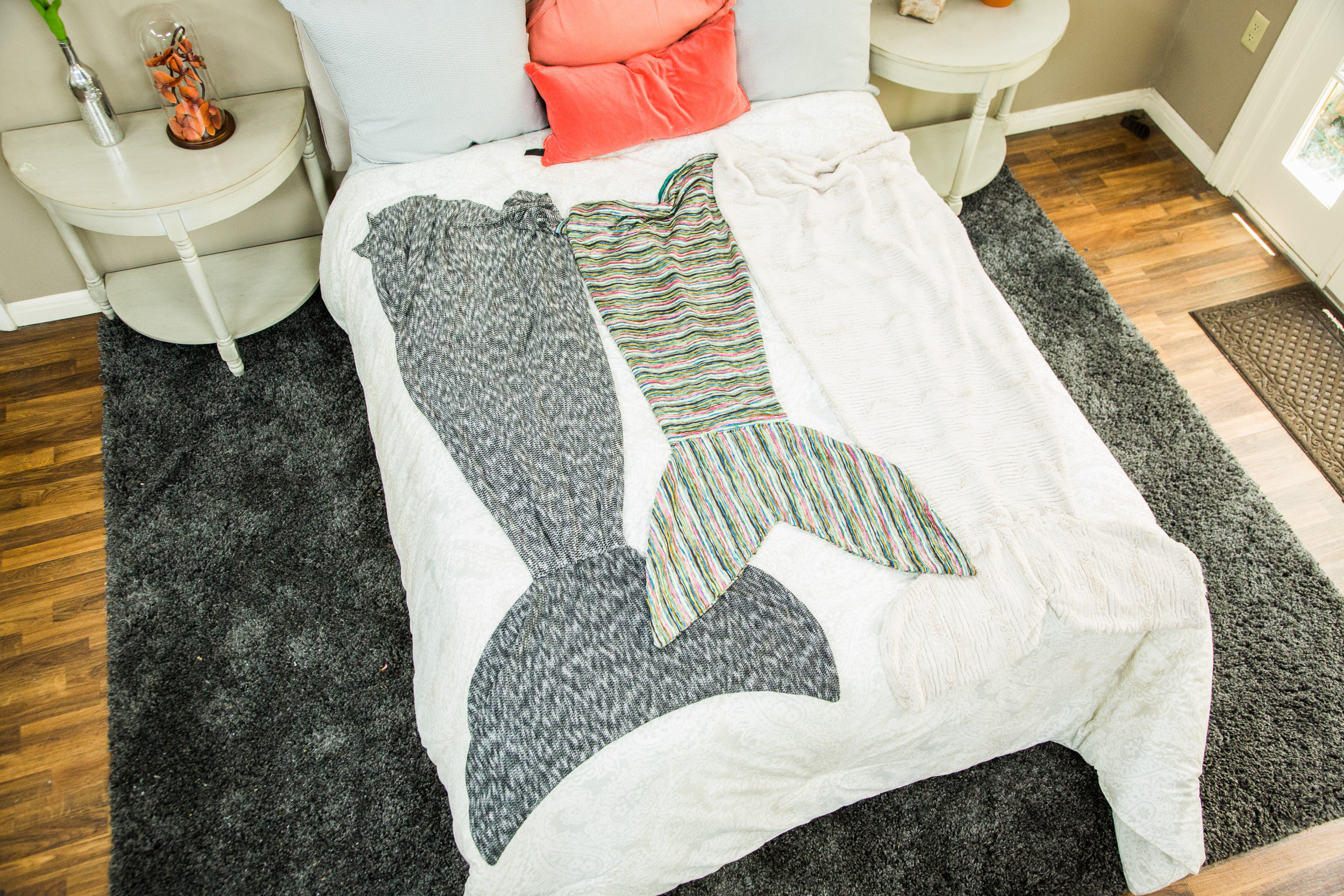 How To Home Amp Family Diy Mermaid Tail Blanket