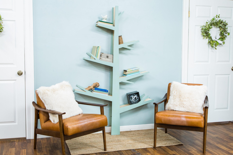 how to - diy tree bookshelf | hallmark channel
