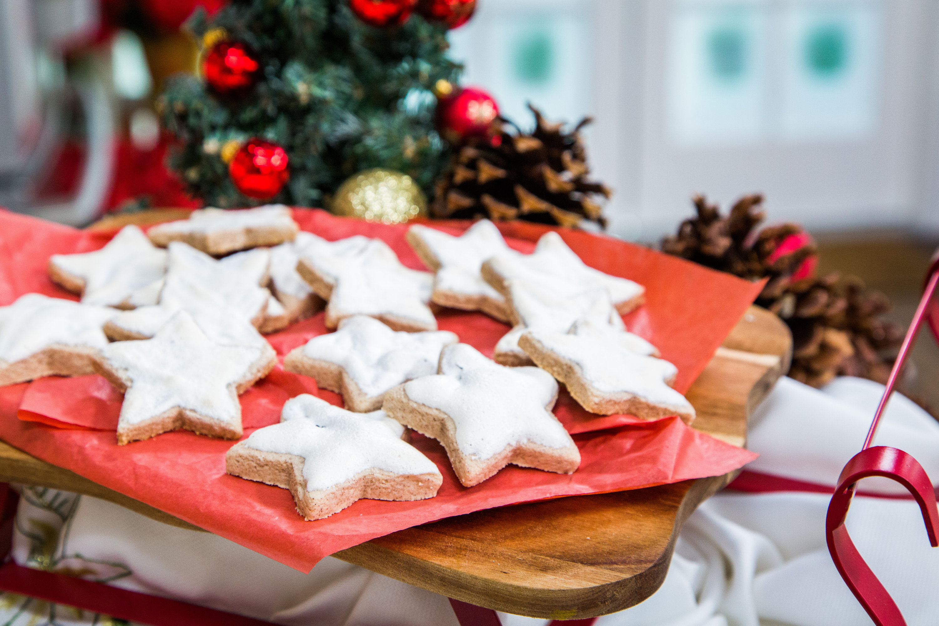 Cinnamon Star Christmas Cookies