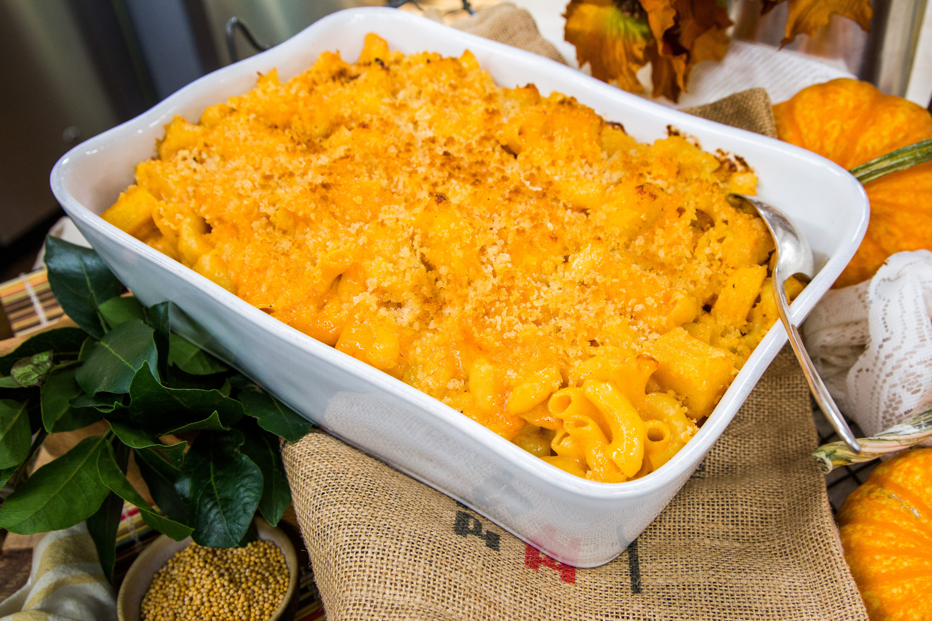 Recipes Roasted Pumpkin Mac And Cheese Hallmark Channel