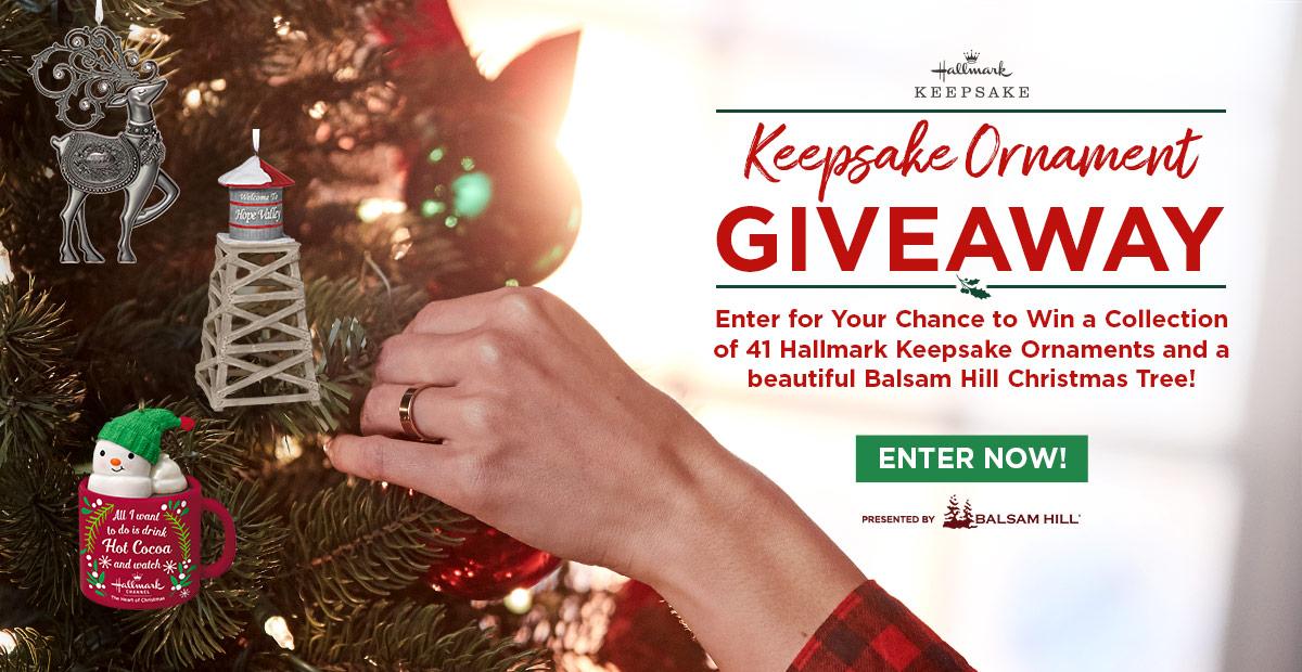 Hallmark Channel's Keepsake Ornament Giveaway | Countdown to Christmas | Hallmark Channel