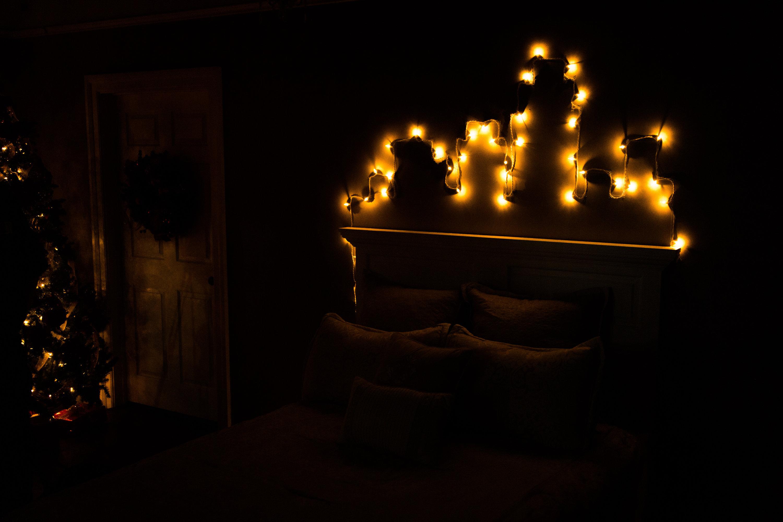 diy city lights wall dcor home family hallmark channel