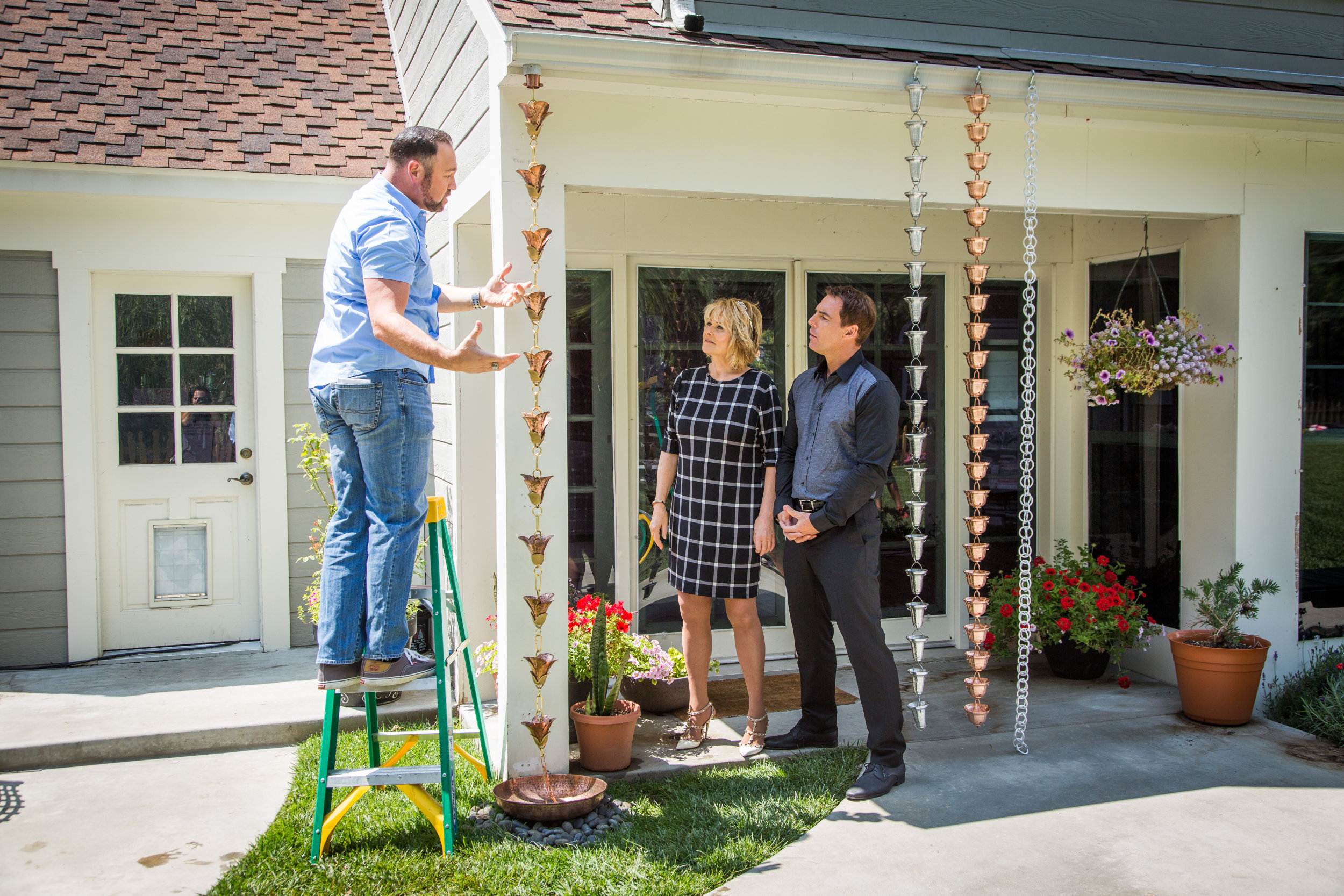 How to diy rain chain install home family hallmark channel solutioingenieria Gallery