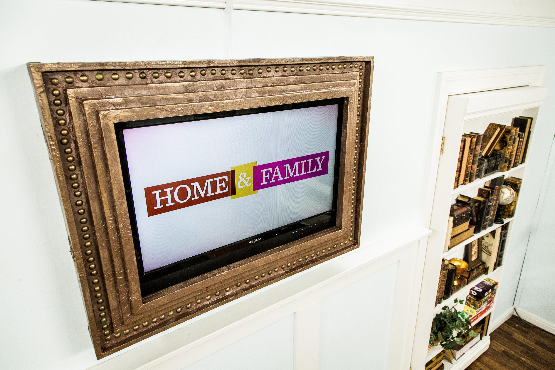 Diy Frame For Tv Flatscreen Home Amp Family Hallmark Channel