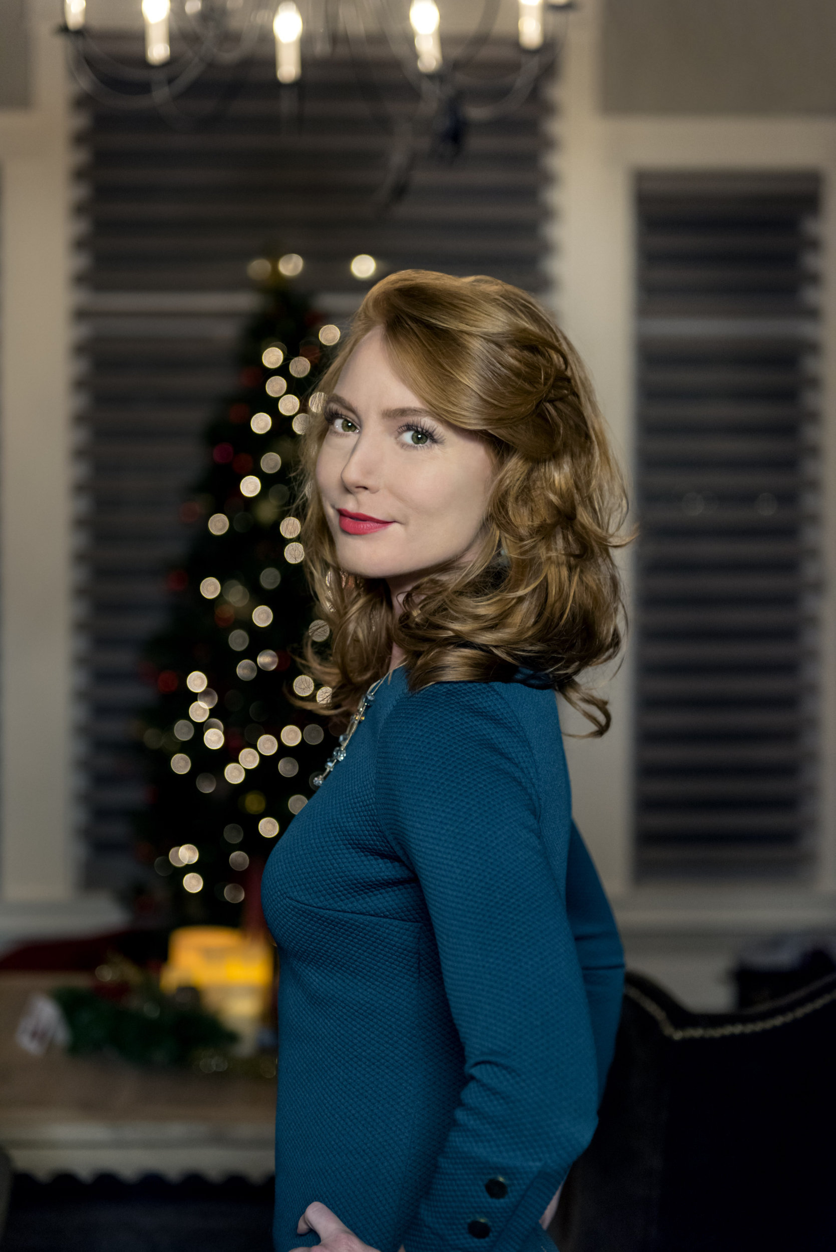 Alicia Witt On Christmas List Hallmark Channel