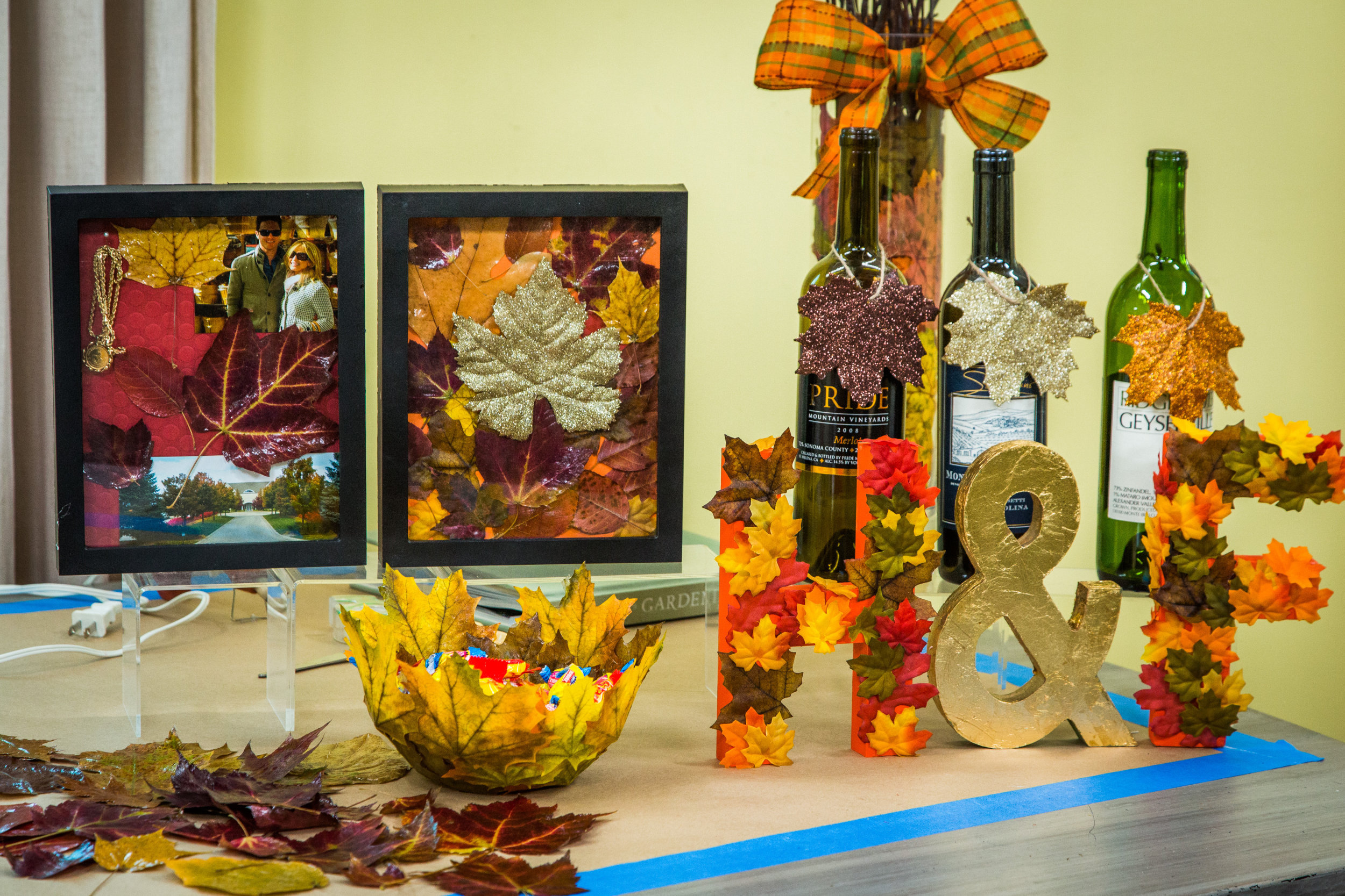 How To Preserving Leaves To Make A Shadow Box Home Family