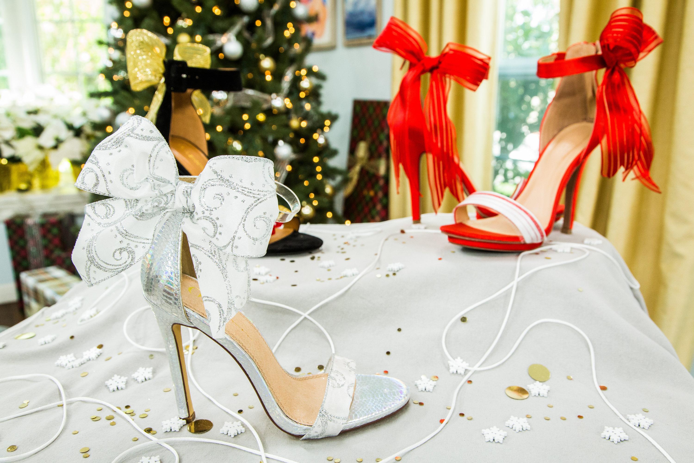 Christmas Shoes Diy.How To Diy Christmas Present Heels Hallmark Channel